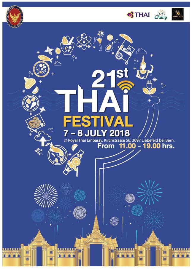 Thai-Festival in Bern: Thaimassage zum Kennenlernen bei Freunden 2