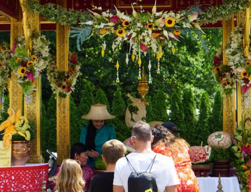 Thai-Festival in Bern: Thaimassage zum Kennenlernen bei Freunden