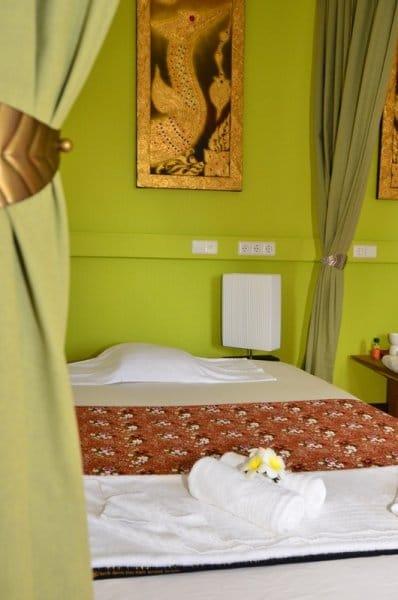The One Thai Massage Thaimassage in Leinfelden bei Stuttgart. Frühlingszimmer