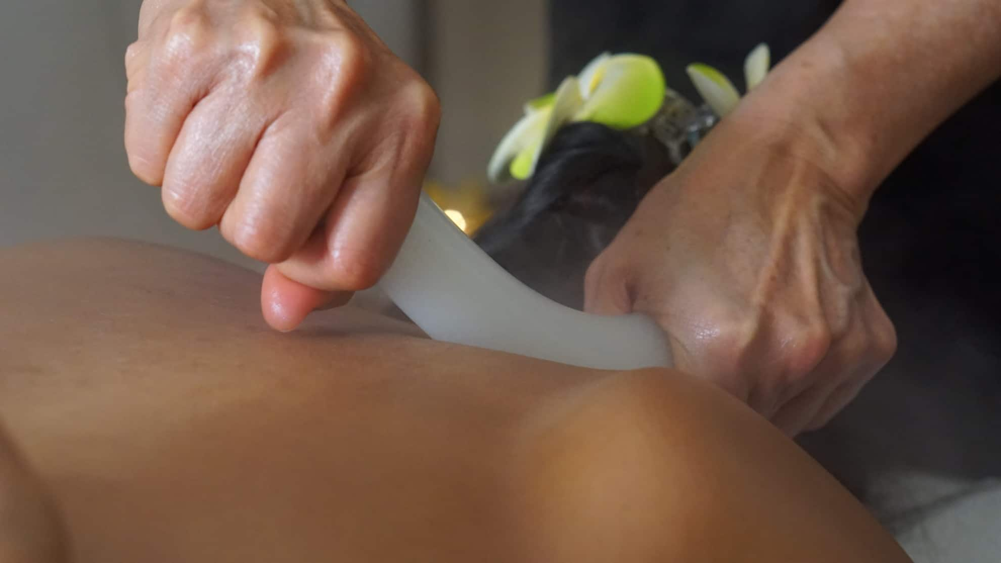 Harmonic-Deep-Stone-Massage in The One Thai Massage