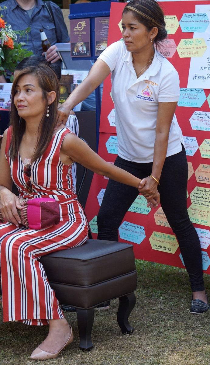 Thai-Festival in Bern: Thaimassage zum Kennenlernen bei Freunden 5